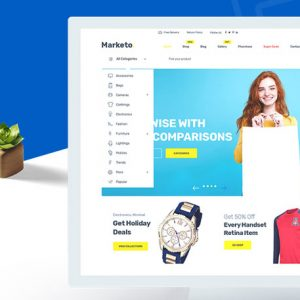 Marketo - ECommerce & Multivendor A Woocommerce WordPress Theme