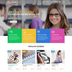 Masterstudy - Education LMS WordPress Theme for eLearning and Online Courses