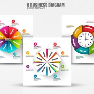 Abstract 3D Business Diagram Infographics