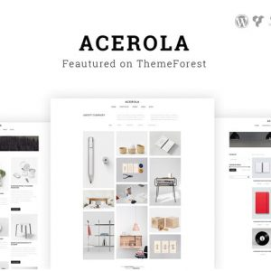 Acerola - Ultra Minimalist Agency WordPress Theme