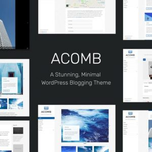 Acomb - Responsive Blogging WordPress Theme