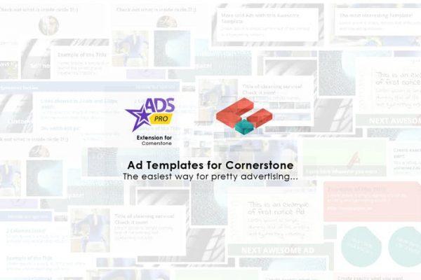 Ads Pro - Cornerstone Extension - Ad Templates