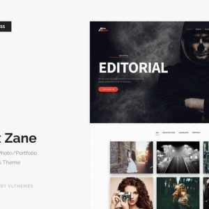 Alex Zane - Photo/Portfolio WordPress Theme