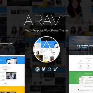 Aravt - Creative MultiPurpose WordPress Theme