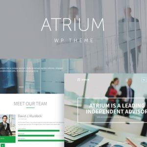 Atrium - Finance Consulting WordPress Theme