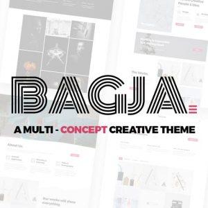Bagja - Responsive Multi Concept & One Page Portfo