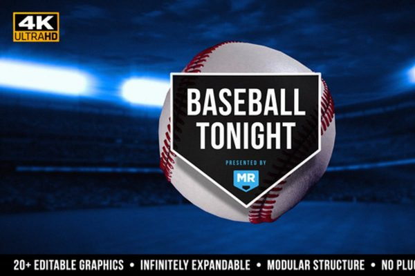 Baseball Tonight Graphics Package