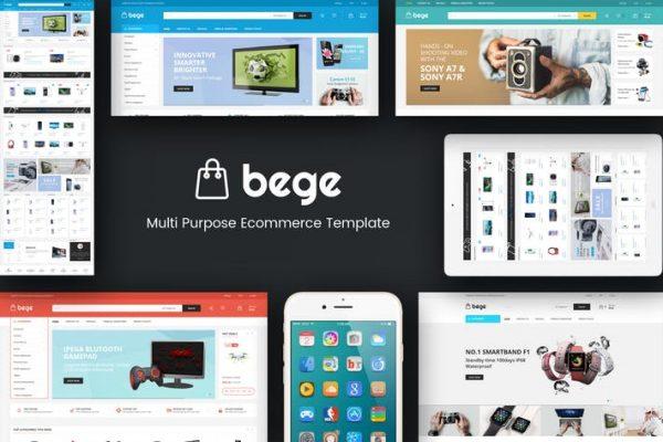Bege - Responsive WooCommerce WordPress Theme