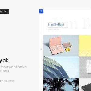 Beliynt Lite - Modern Multi-Conceptual Portfolio