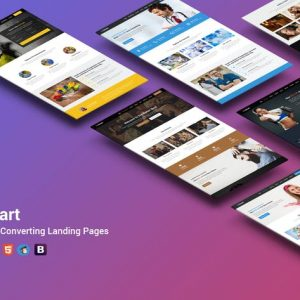 BeSmart High-Converting Landing Page WordPress The