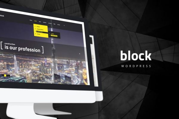 Block — Construction, Architecture WordPress Theme