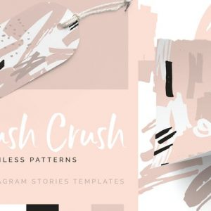 Blush Crush Patterns & Instagram Templates