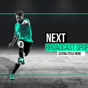Broadcast Sports Pack Essential Graphics | Mogrt