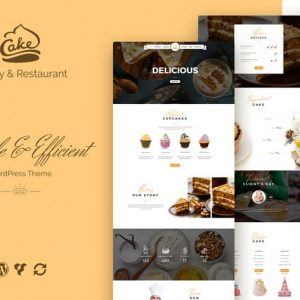 Cake - Easy Slight Bakery & Backing Theme