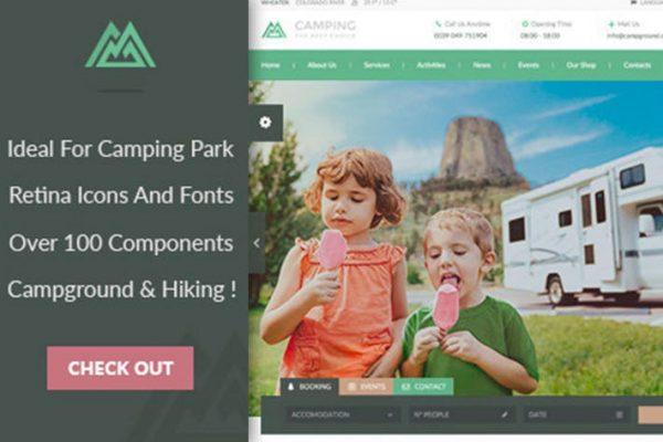 Camping WordPress Theme