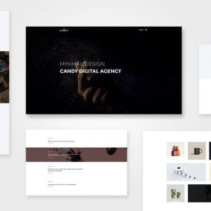 Candy | One & Multi Page WP