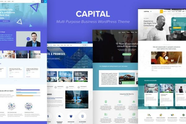Capital - Multi Purpose Business WordPress Theme