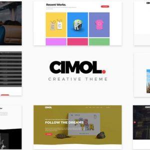 Cimol - Responsive One Page & Multi Page Portfolio
