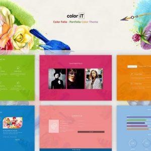 Color Folio - Portfolio Color Theme