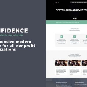 Confidence Multipurpose Nonprofit WordPress Theme