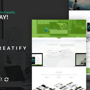 Creatify - Multipurpose Business WordPress Theme