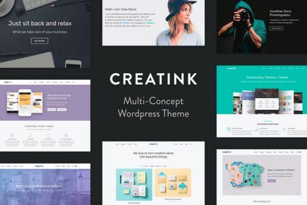 Creatink - MultiConcept Responsive WordPress Theme