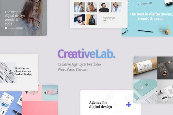 Creative Lab - Creative Studio & Agency Portfolio