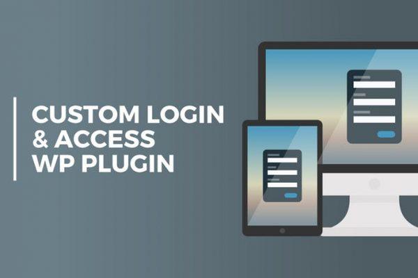 Custom Login & Access WordPresss Plugin