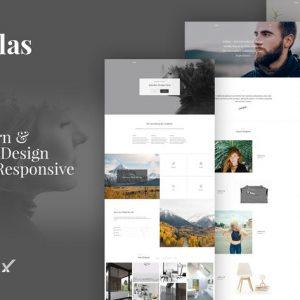 Dallas Minimal Portfolio Business WordPress Theme