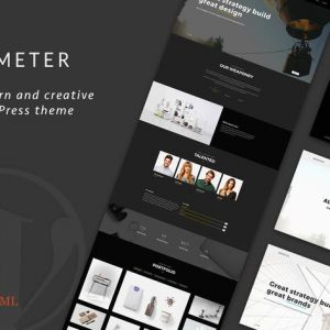 Demeter - One-Page Parallax WordPress Theme
