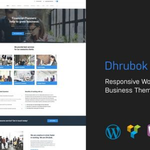 dhrubok responsive business wordpress theme