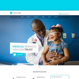 doctor medical health wordpress theme