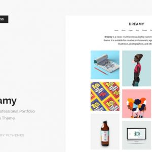 dreamy biggest portfolio wordpress theme