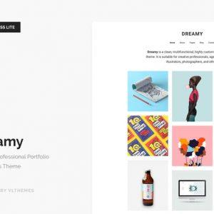 Dreamy Lite - Responsive Portfolio WordPress Theme