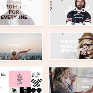 dropout creative multi purpose theme