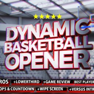 Dynamic Basketball Opener/Intro