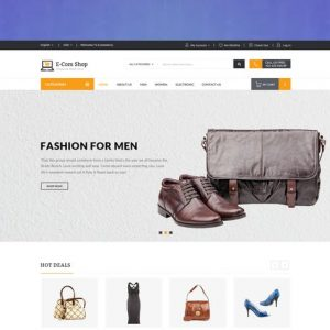 ecom responsive woocommerce wordpress theme