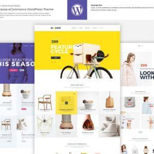 ecoshop multipurpose ecommerce wordpress theme