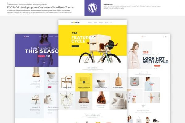 ecoshop multipurpose ecommerce wordpress theme