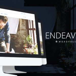 endeavor multipurpose corporate wordpress theme