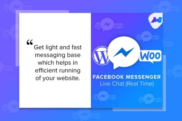 Facebook Messenger Live Chat - Real Time 1