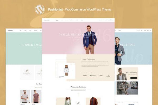 Fashionist - WooCommerce WordPress Theme