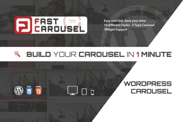 Fast Carousel - Wordpress Premium Plugin