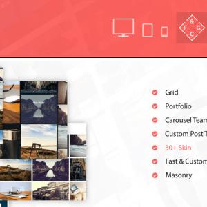 Fast & Custom Grid - Wordpress Plugin