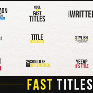 Fast Titles