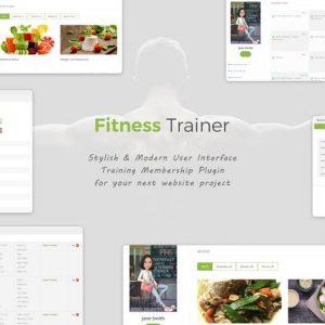 Fitness Trainer- Training Membership Plugin