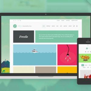 freelo wp creative wordpress portfolio theme