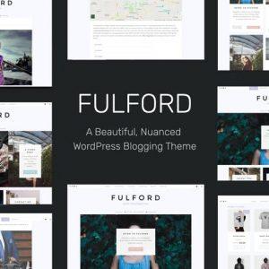 fulford responsive wordpress blogging theme