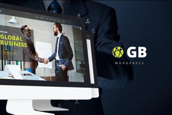 gb multipurpose global business wordpress theme
