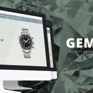 gem luxury ecommerce responsive wordpress theme